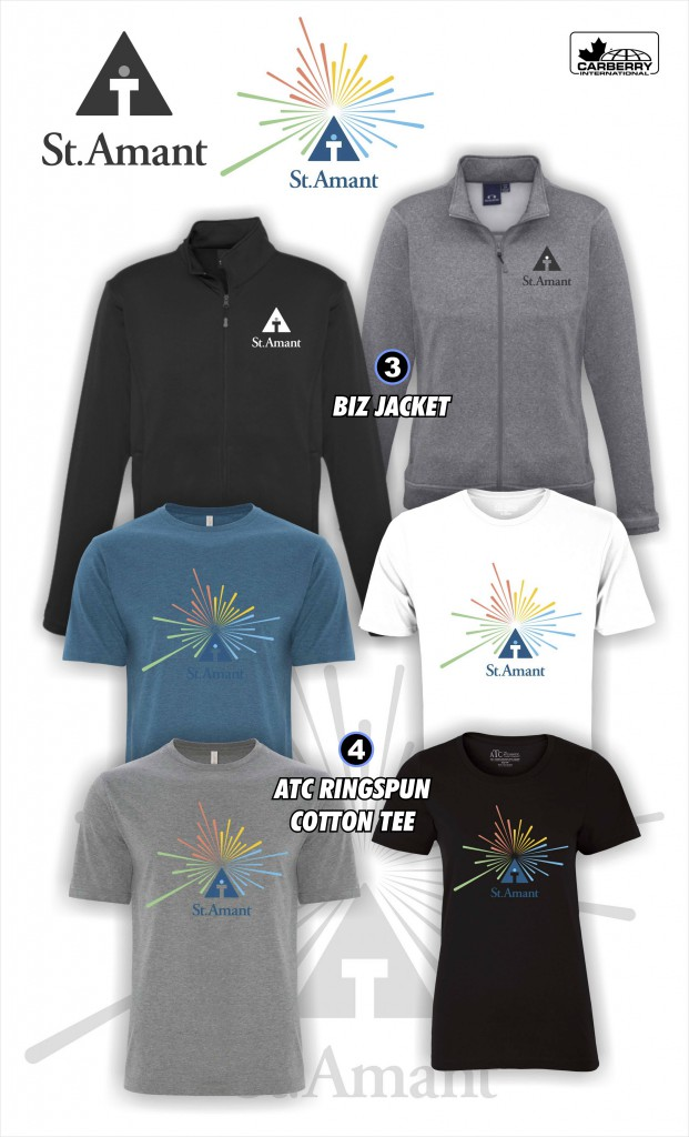 Apparel 3 and 4 Jackets and tees